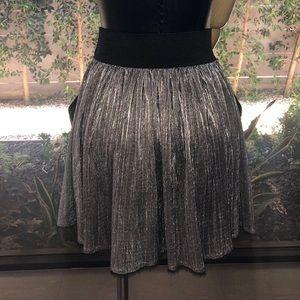 Zadig & Voltaire Pleated Mini Skirt